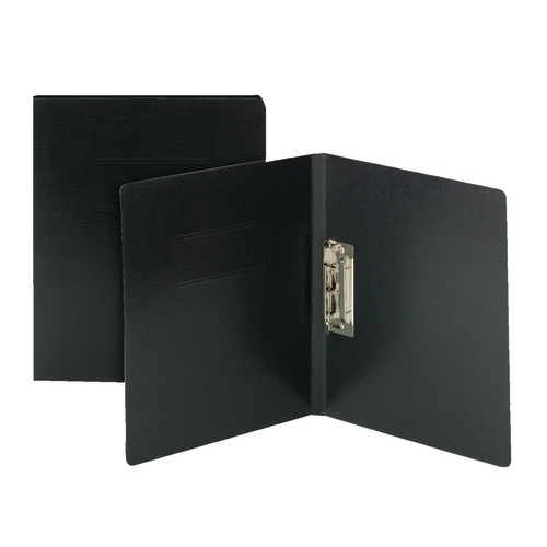 Smead Report Cover with Punchless Fastener, Letter Size, Black, 10 per Box (83050)