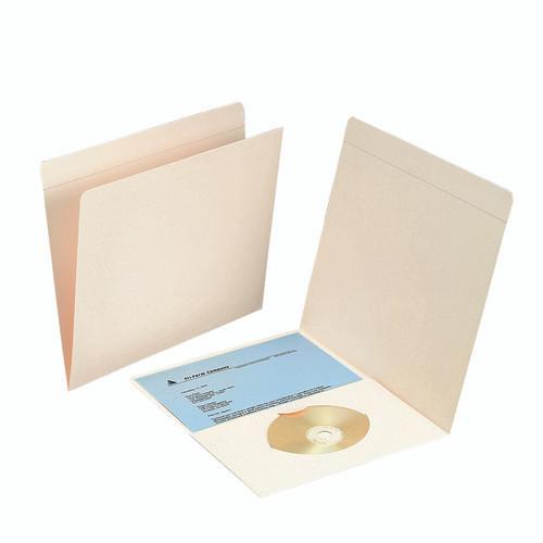 Smead Pocket Folder, Reinforced Straight-Cut Tab, Letter Size, Manila, 50 Per Box (10315)
