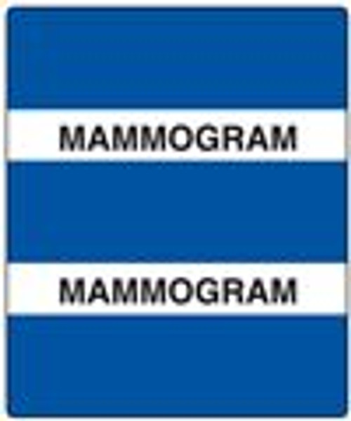 300 Series Create Your Own Patient Chart Divider Tab-RoyalMammogram