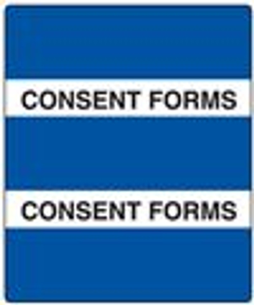 300 Series Create Your Own Patient Chart Divider Tab-Consent Forms