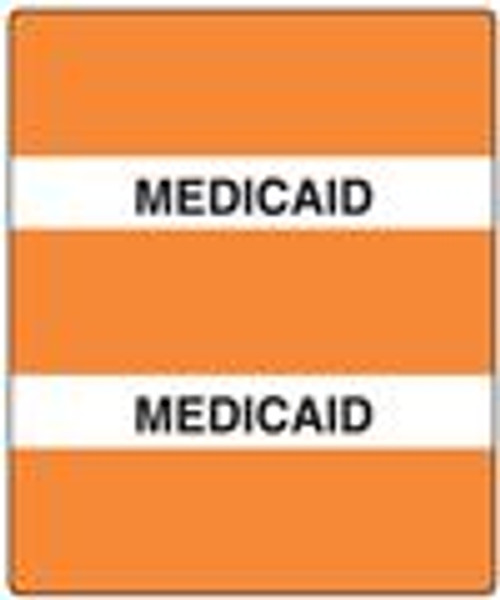 300 Series Create Your Own Patient Chart Divider Tab-Medicaid