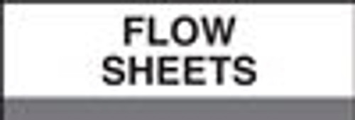 400 Series Create Your Own Patient Chart Divider Tab-Flow Sheets