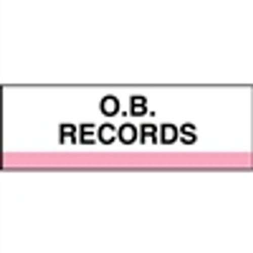 400 Series Create Your Own Patient Chart Divider Tab-O.B. Records
