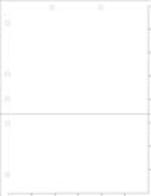 White Index Chart Divider Sheet With Pocket-Overall Size: 8-1/2'' x 11'' - 50/Pack