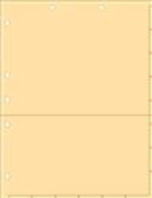 Manila Index Chart Divider Sheet With Pocket-Overall Size: 8-1/2'' x 11'' - 50/Pack