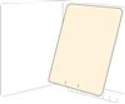 11pt Manila Self Adhesive Top hinge Divider-8-1/2'' W x 11'' H