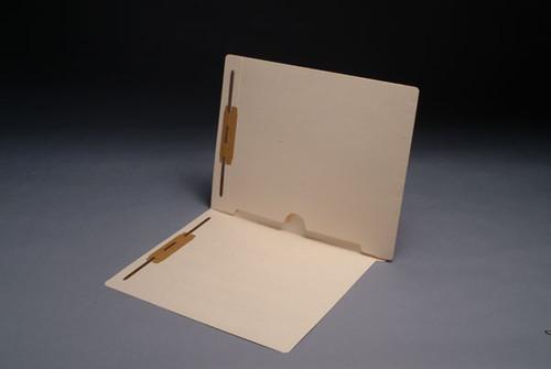 Amerifile Folder: Full Back Pocket Open Bottom Manila Folder with Fastener in Positions 1 &  3 - 11 Pt. Manila -  Full Cut End Tab -  Letter Size - 50/Box