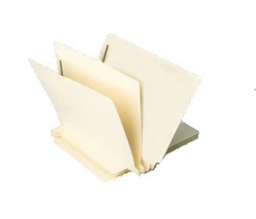 "Classification Folder: 14 Pt. End Tab-1 Divider-2"" Accordion Expansion-Bulk"