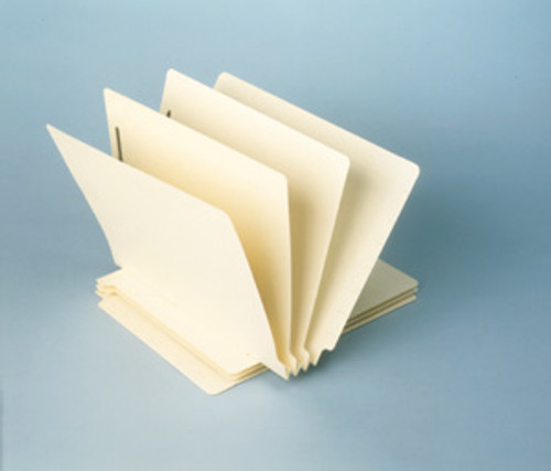 "Classification Folder: 14 Pt. End Tab-2 Dividers-3"" Accordion Expansion"