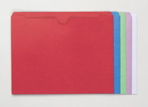Colored Pocket: 11 Pt. Top Tab
