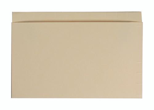 Mini Pocket: 11 Pt. Top/End Tab - 9 x 6 - Open Top - Manila - 100/Box