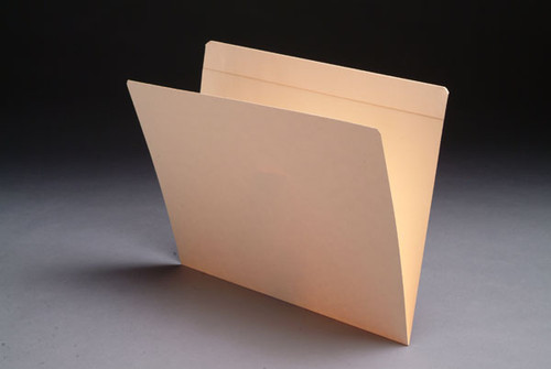 Folder: 14 Pt. Top Tab with Full Cut Reinforced Tab- Letter Size - 2 Fasteners in Positions 3 & 5 - 50/Box