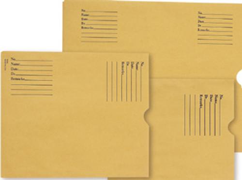 X-Ray Filing Envelopes: Brown Kraft-8-1/2 x 10-1/2