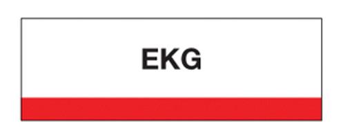 """EKG"" Chart Divider Tabs  1-1/4 x 1-1/2 - 100/pk"