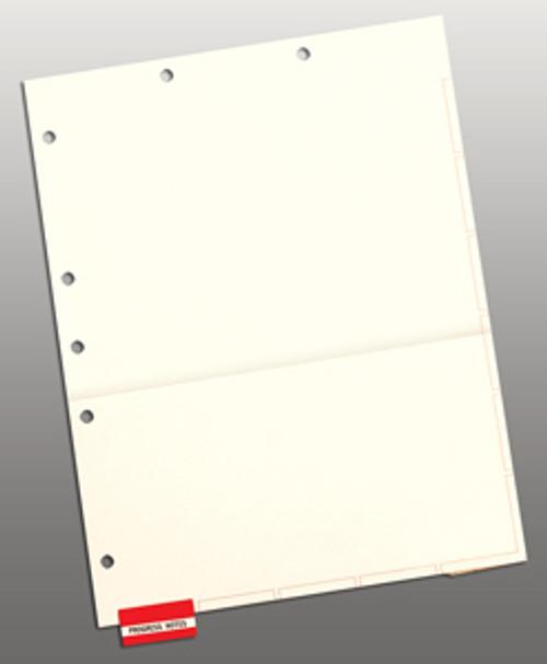 Divider Sheets: Letter Size-Pocket-Manila