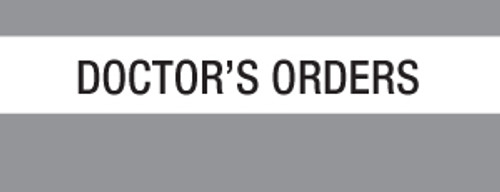 """Doctor's Orders"" Large Chart Divider Tabs"