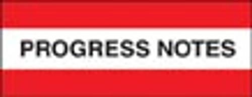 """Progress Notes"" Large Chart Divider Tabs"