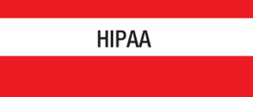 """HIPAA"" Large Chart Divider Tabs"