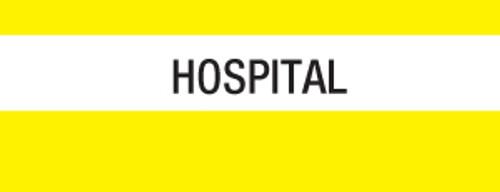 """""""Hospital"""" Large Chart Divider Tabs"""