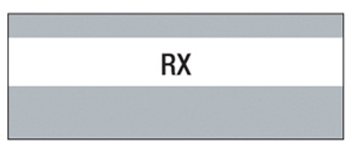 """""""Rx"""" Large Chart Divider Tabs"""