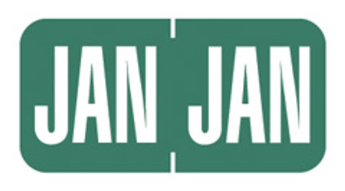 JANUARY-Dk. Green