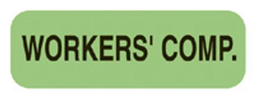 """WORKER'S COMP."" - FL. GREEN"