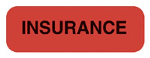 """INSURANCE"" - FL. RED"