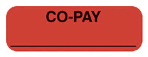 """""""CO-PAY"""" - FL. RED"""