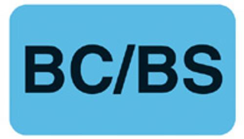 """BC/BS"" - LT. BLUE"