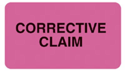"""CORRECTIVE CLAIM"" - FL. PINK"
