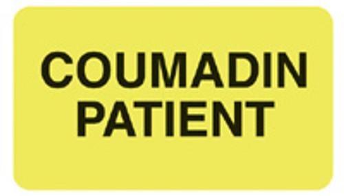 """COUMADIN PATIENT"" - FL. CHARTREUSE"