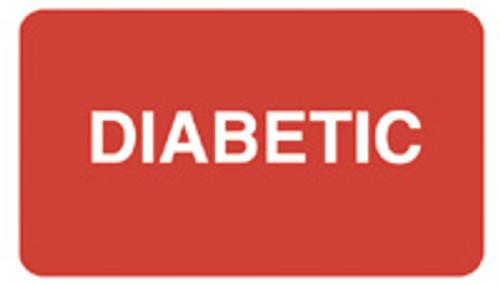 """""""DIABETIC"""" - RED"""