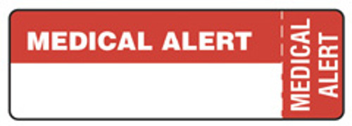 """MEDICAL ALERT"" (Wrap Around) - RED"