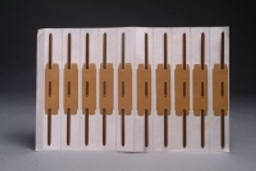"Fasteners, 9"" Self Adhesive Strip with 2"" Capacity - 100/Box"