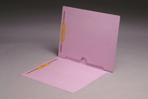 Lavender pocket folder-inside back panel.