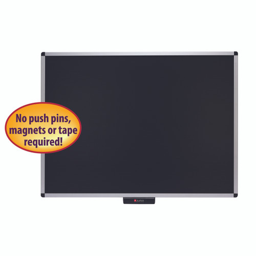 Justick 48x36 Premium Aluminum Frame Bulletin Board 02563