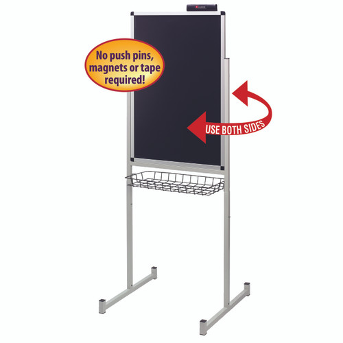 Justick 24x36 Promo Stand Double Side 02594