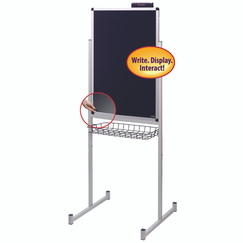 Justick 24x36 Promo Stand Single Side with Clear Overlay 02595