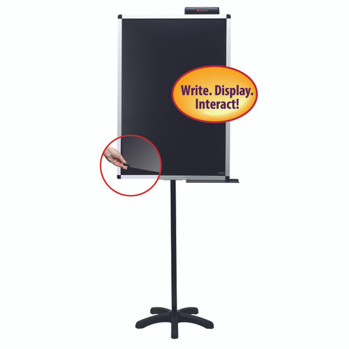 Justick 24x36 Lobby Stand with Clear Overlay 02586