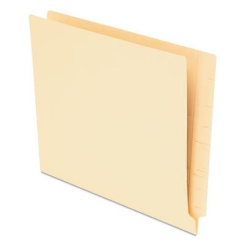 "Amerifile End Tab Open Shelf File Folder - 14 Pt - 1 Ply - 3/4"" Accordion Expansion  - Manila - Letter - Box of 100"