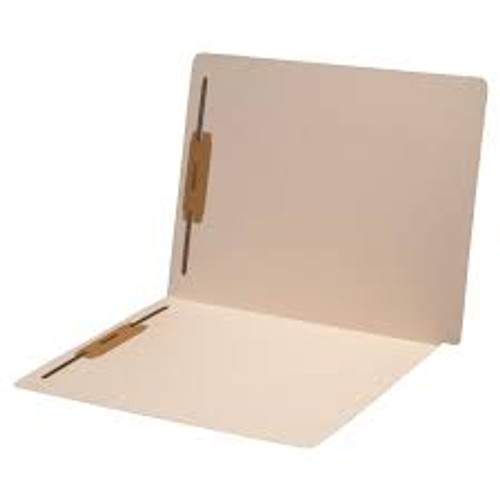 Amerifile End Tab Extended End-Tab File Folders - 11 Pt - 2 Ply - Position 1&3 - Manila - Letter - Box of 50