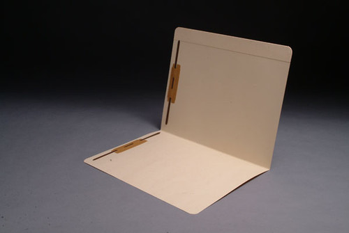Amerifile Top Tab File Folders - 14 Pt  Manila-  Full Cut 2 Ply Tab - Fasteners in Positions 1&3 -  Letter Size- Box of 50