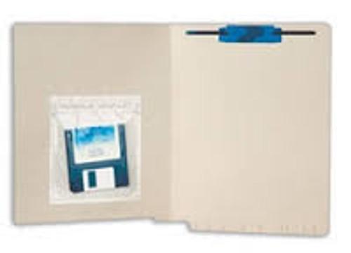 "Amerifile  Self-Adhesive ""LockIt"" Poly Pockets - Pocket - Box of 100"