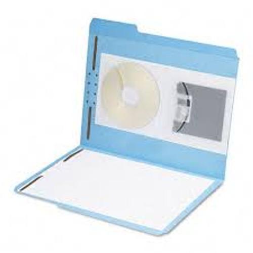 Amerifile  Mediumweight (5 mil.) Self-Adhesive Poly Pockets - Pocket - Box of 100 - F2505
