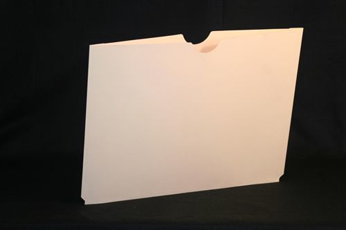 "AmeriFile X-Ray Filing Jackets - Plain, No Print - 11 Pt. Manila Jackets with 3/4"" Accordion Expansion - 18-1/4"" W x 14-1/2"" H - Box of 100"