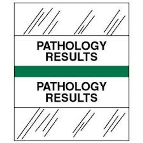 Amerifile (Tabbies Compatible) Chart Divider Tabs - Divider - Box of 100 - Green - Pathology Results