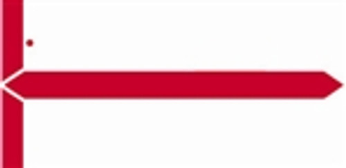 AmeriFile - GBS/V.R.E. Compatible Name Labels - Color Red - Pack of 1000 Labels