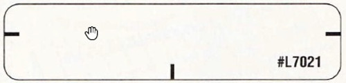 "Jeter Mini Name Labels - Jeter 1821 - 2 1/2"" W  x 5/8"" H - 1000 Labels"