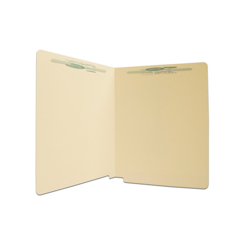 Medical Arts Press Match 11pt Full Cut End Tab File Folders with 2 Permclip Fasteners (250/Carton)