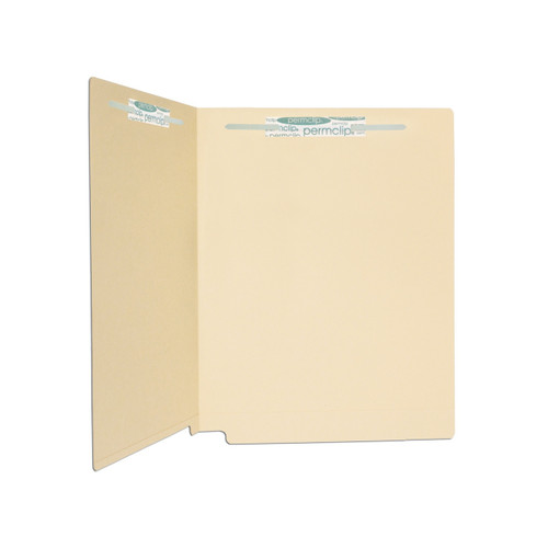 Medical Arts Press Match 11pt Full Cut End Tab File Folders with 2 Permclip Fasteners (50/Box)